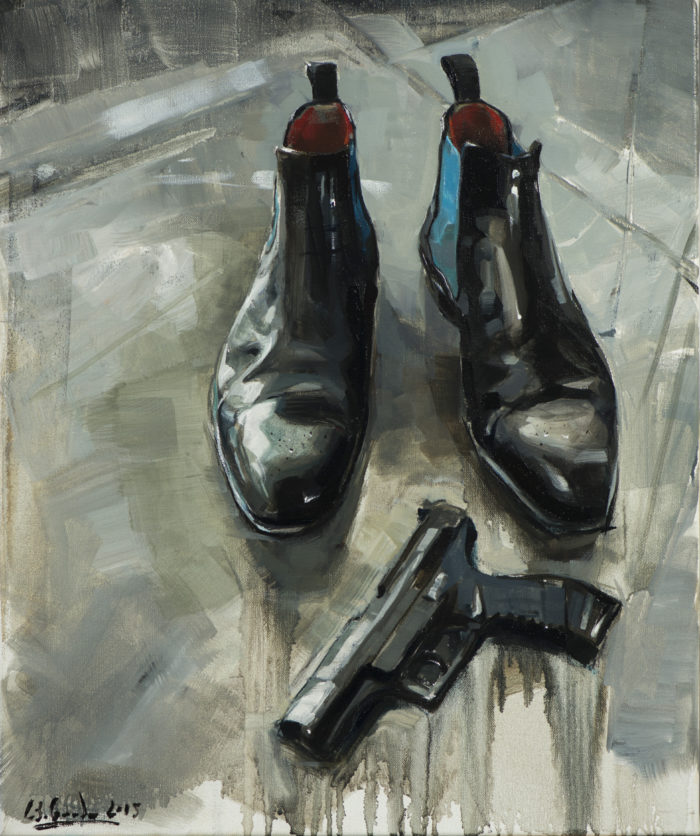 Die Schuhe des Rappers_50x60