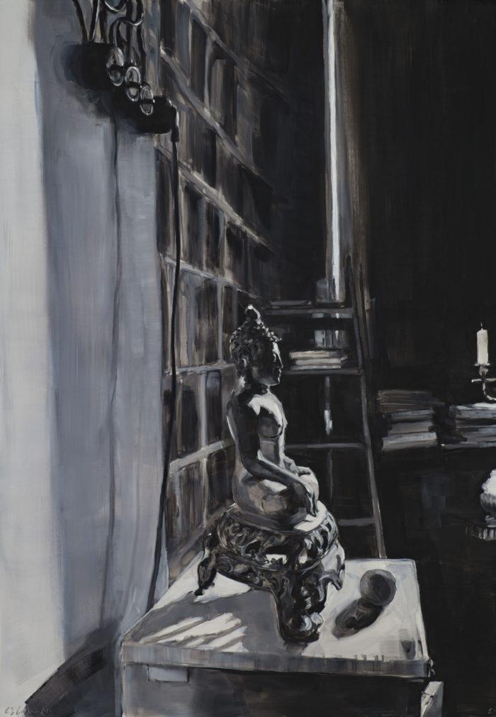 Im Atelier des Malers_70x100cm_om