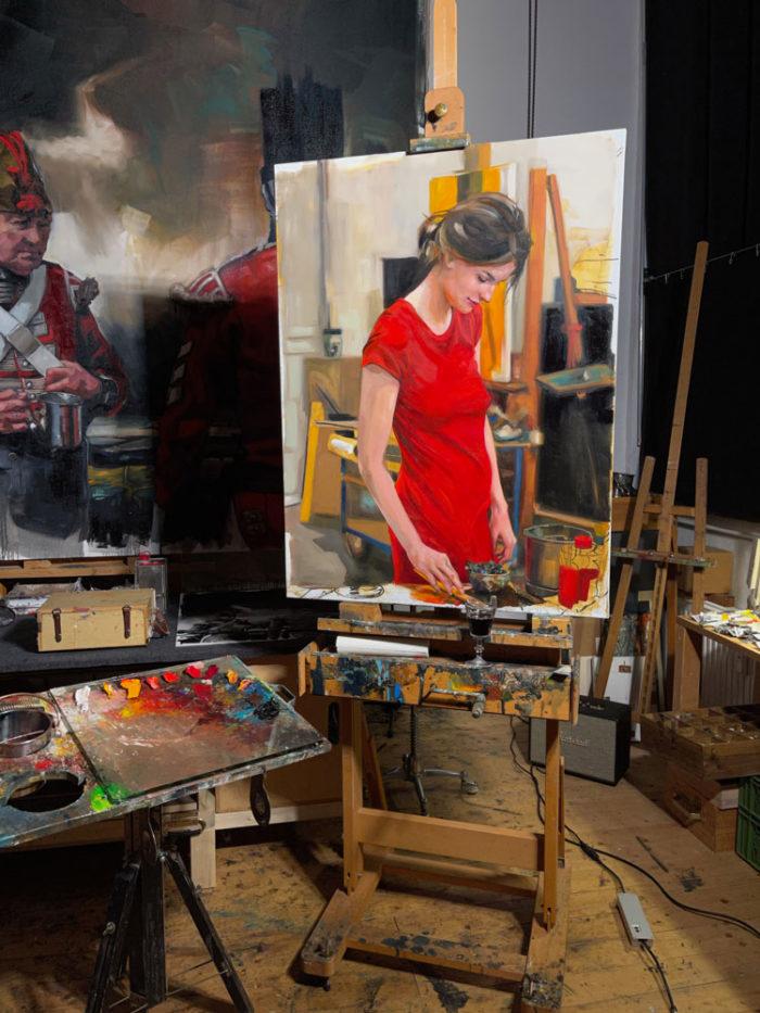 Wip_Im Atelier_des_Malers_EBGordon